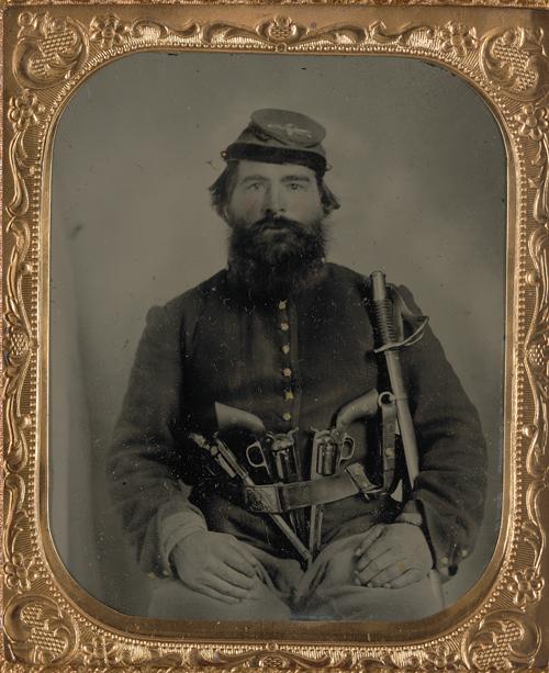 Portrait of an original Remington percussion revolver - svartkrutt net