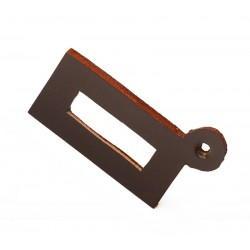 Clicking leather for Remington rolling block