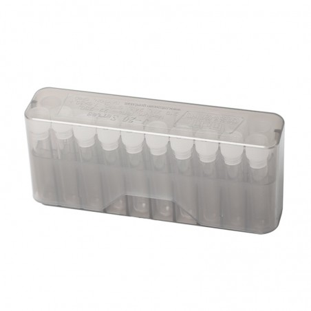 Cartridge box with 20  small vials