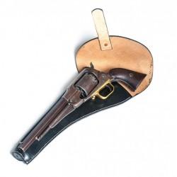 Butt forward revolver holster (left side)