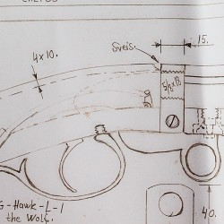 Machinists drawing: Marmann underhammer rifle