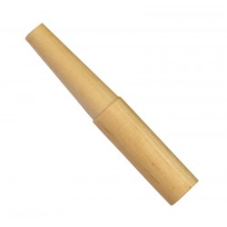Cartridge forming dowel for percussion revolvers