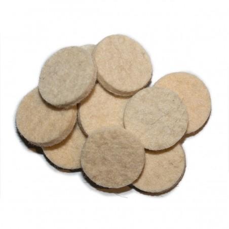 Large-bore kammerlader wads (package of 100)