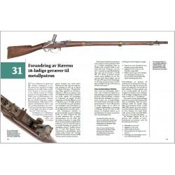 Side 272–271: Forandring av de 18-lødige geværene til metallpatron.