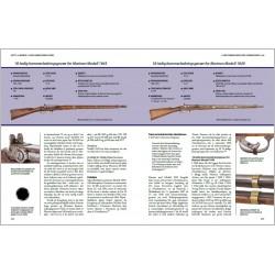 Side 322–323: Marinens M/1845 og M/1849.