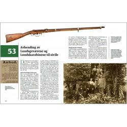 Side 410–144: Avhending Lundsgeværene og Lundskarabinene til sivile.