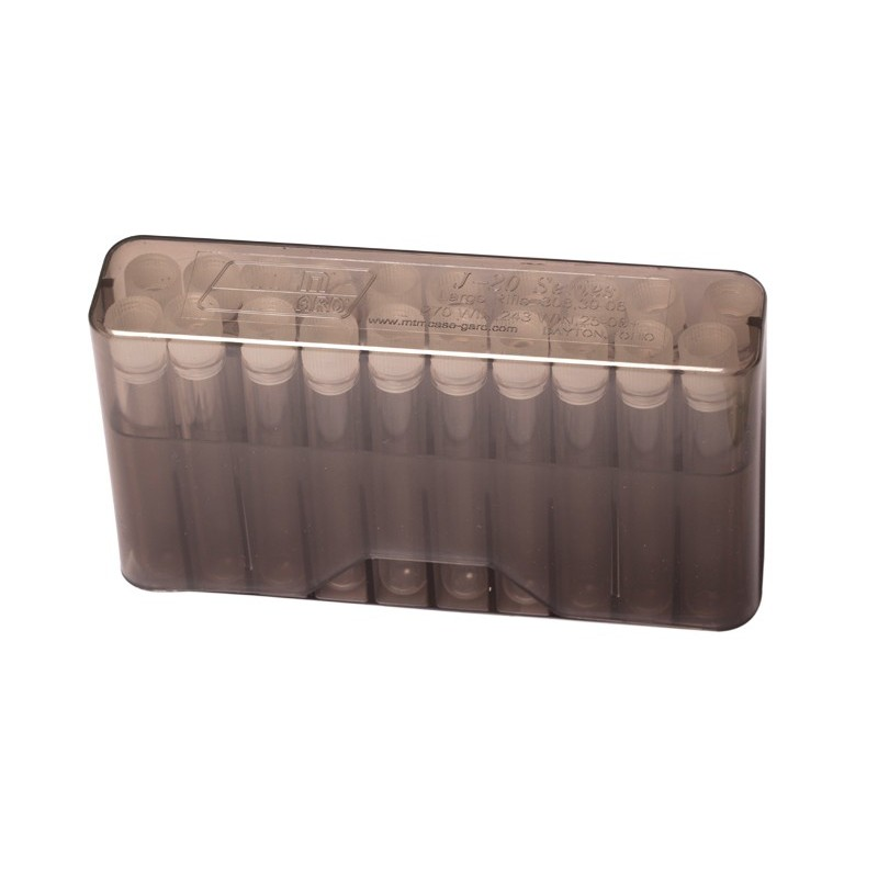 Cartridge box with 20 vials